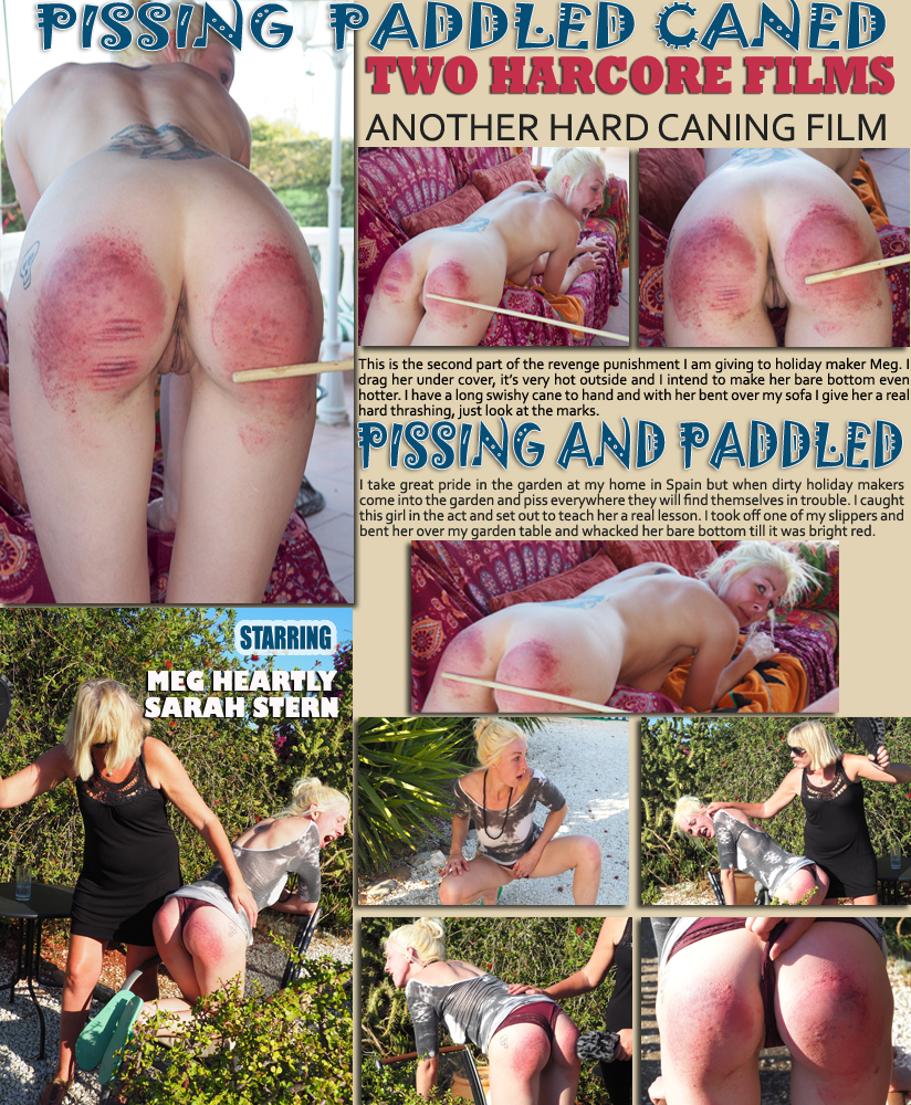 Pissing and caning